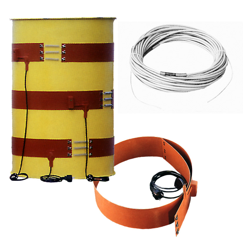 Heating tapes and flexible heating cord