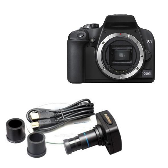 Cameras and eyepiece video cameras