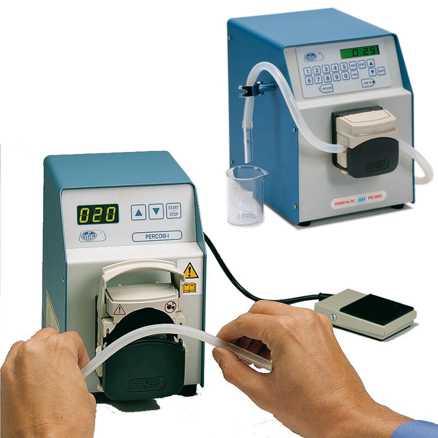Peristaltic dosing pumps