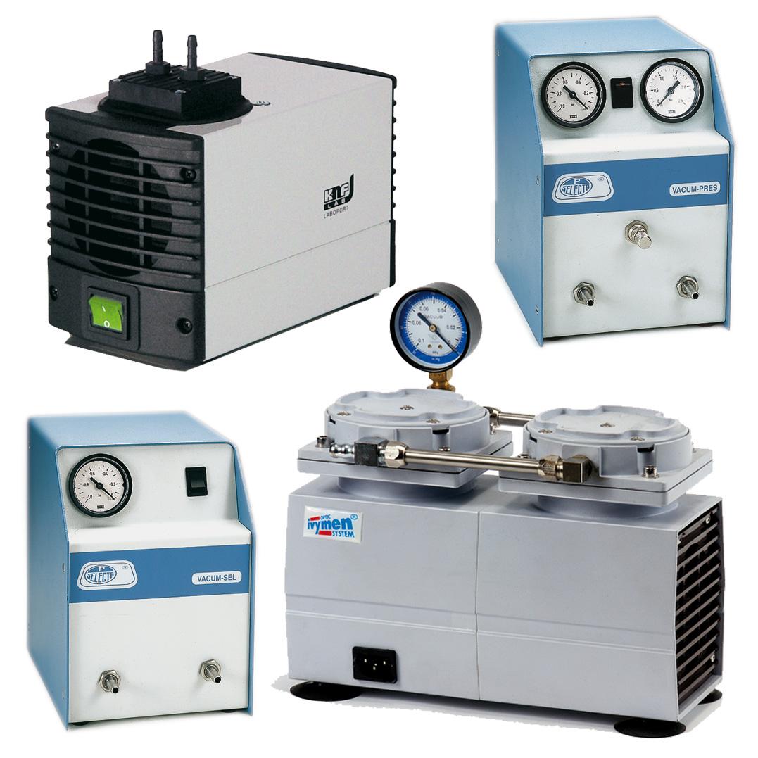 Membrane vacuum pump
