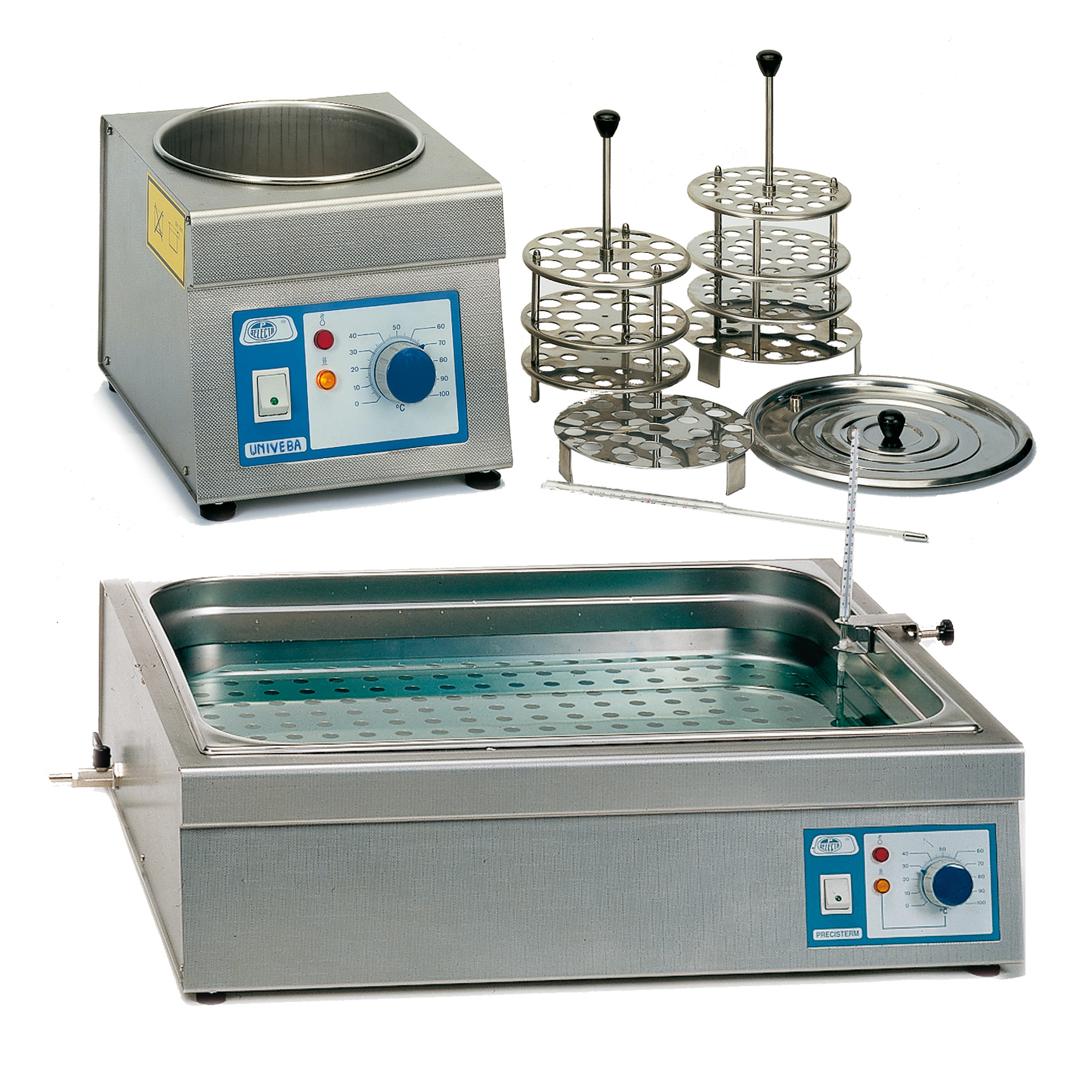 Water - oil analogue control baths