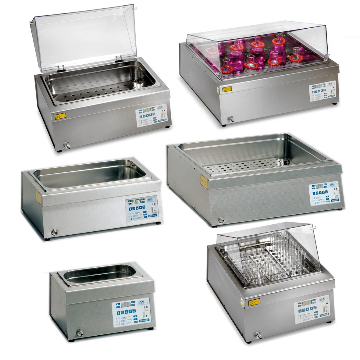 Water - oil digital control baths