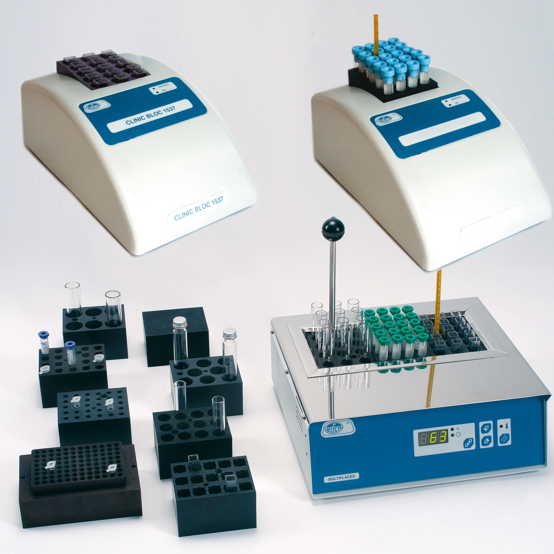 Thermostat dry-blocks