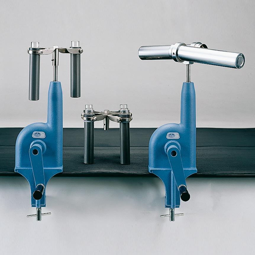 Hand operated centrifuges