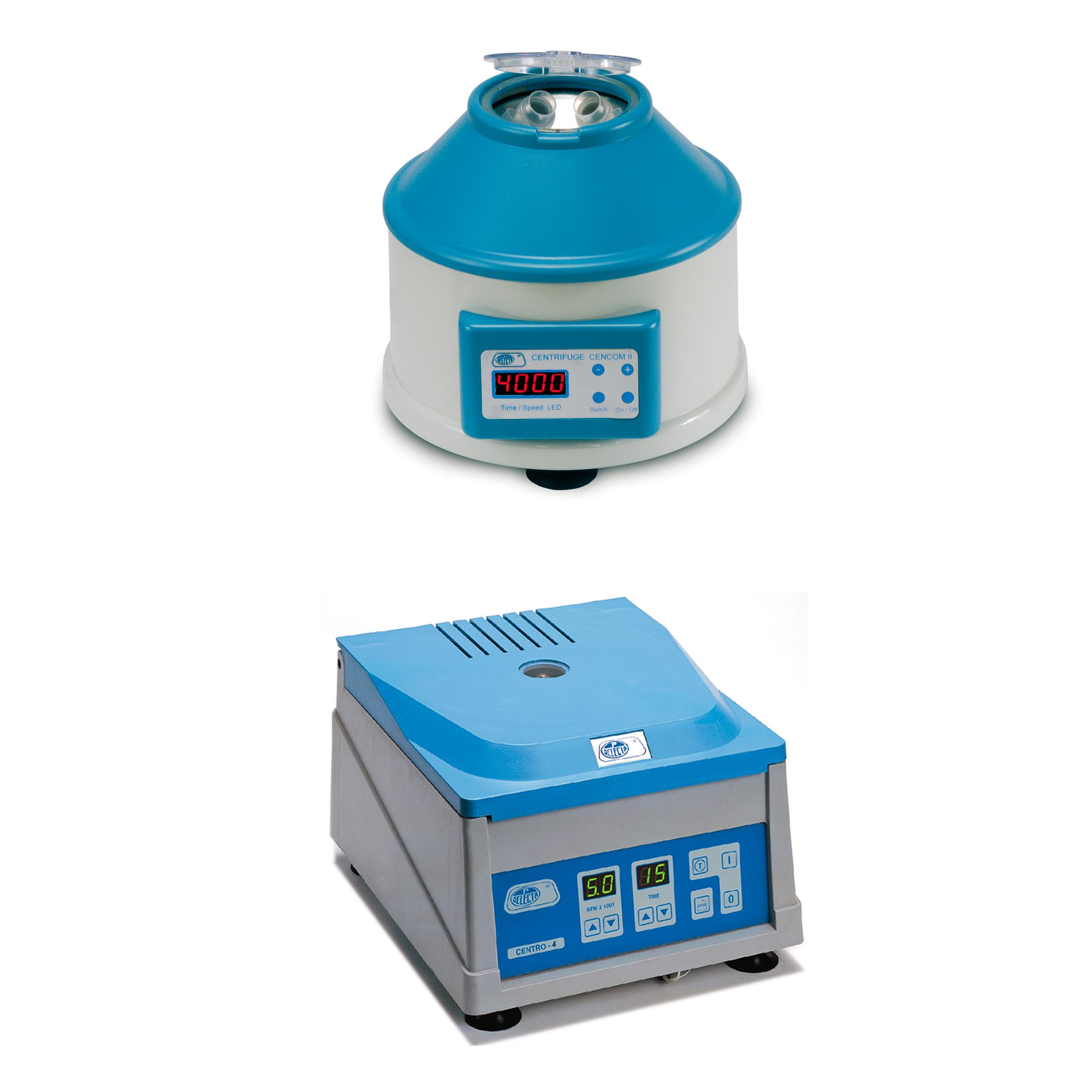 Electronic digital control centrifuges