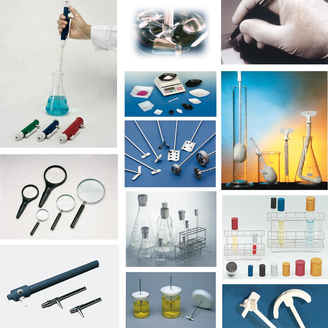 Diverse laboratory instruments