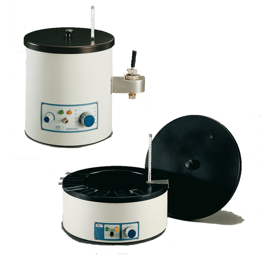 Wax dispenser and paraffin wax floating