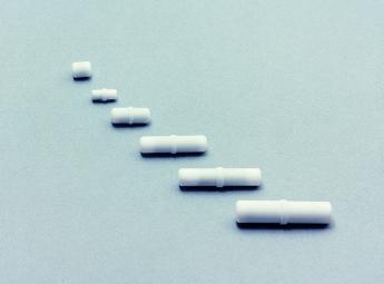 Stir-bars followers for magnetic stirrers. 4 MMØ X 12MM LONG