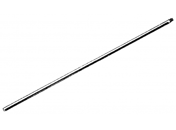 Support rod with thread of 12 mm Ø x 500 mm high