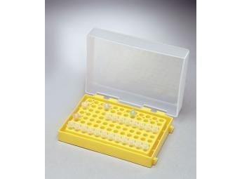 STORAGE BOX FOR 96 TUBES OF 0.2 ml