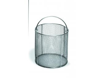 AISI 304 stainless steel wire baskets.