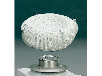 Heating mantle for flasks