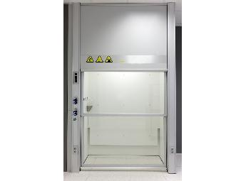 """Laboratory fume cupboards """"Walking"""" to the ground VG-VW-1420"""