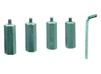 4 adaptadores para 4 frascos de 1 litro