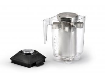 "Contenedor en acero Inox. AISI 304 1 litro ""TR-2"""