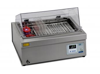 """Water bath with inner stirring """"Agibat-20"""" with digital control and display of temperature and time"""