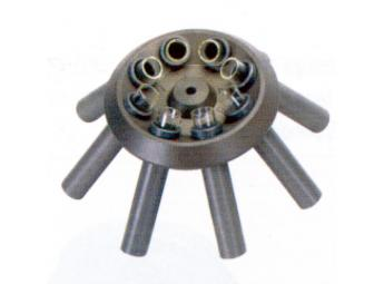 Rotors and interchangeable buckets and adapters