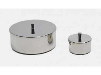 BOXES WITH ROUND LIDS